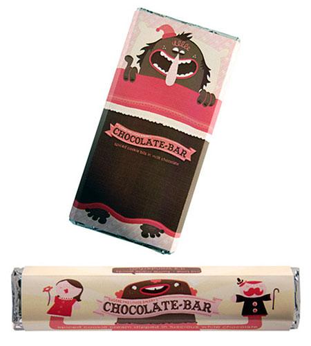 packagin para una chocolatina